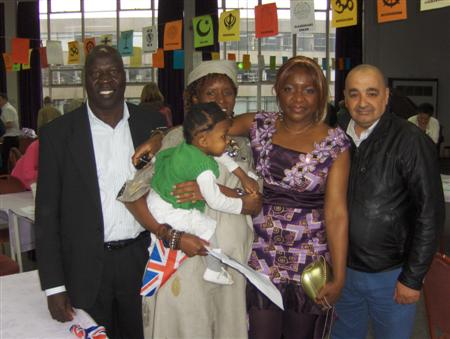 Asylum Seekers at Launch